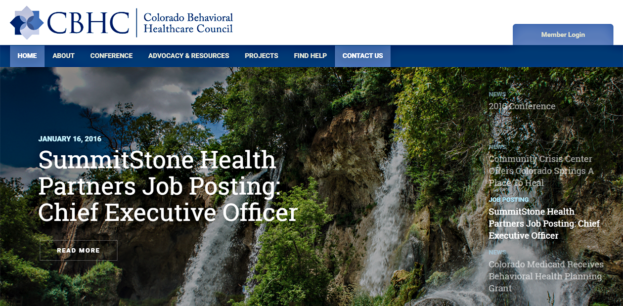 Colorado Behavioral Healthcare Council